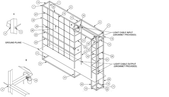 Contemporary Arch CAD Drawing 1