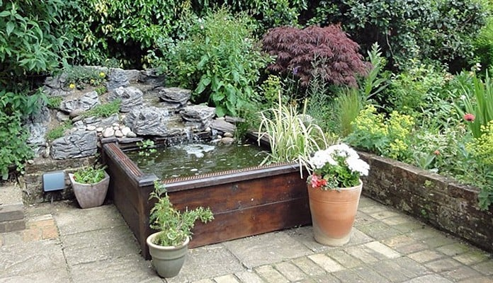 4ft x 4ft Raised Bed Pond, Mr Pells - Hertfordshire