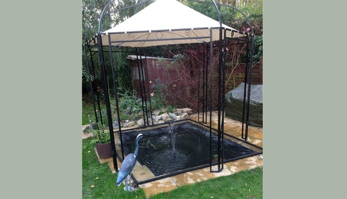 Bespoke Flat Steel Pond Cover, Mr Cannell  - Norfolk