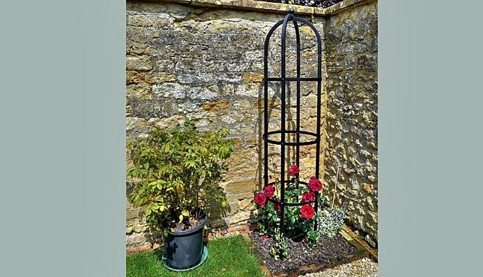 Steel Round Obelisk, Mr Hutson - Somerset