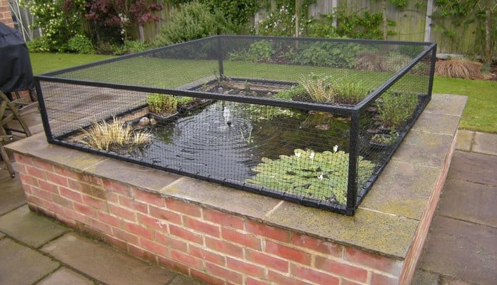 Flat Steel Pond Cover, Mr Matthews  - Suffolk