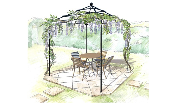 Pyramid Gazebo Design