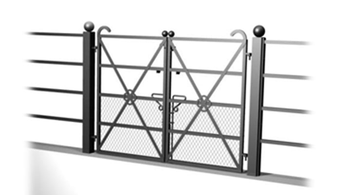 Small 5 Bar Gate