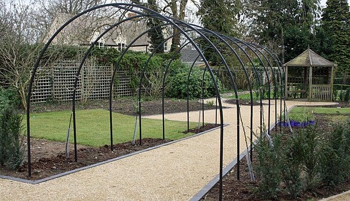 Roman Arches Linked for Apples, Kate Bradley - Kate Bradley Gardens