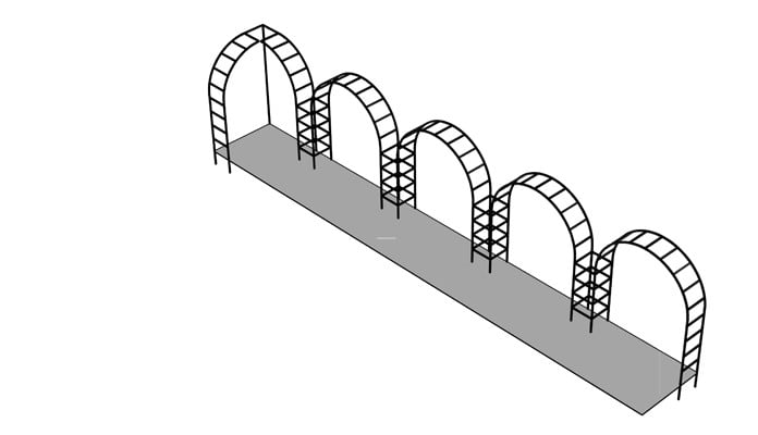 Arch Colonnade & Gazebo Design