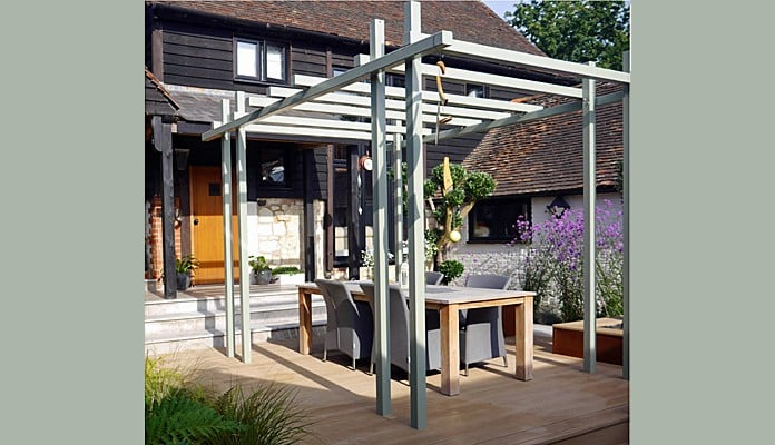 Contemporary Pergola Gazebo