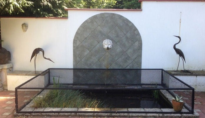 2m x 3m Raised Steel Pond Cover, Mr Miller - Surrey