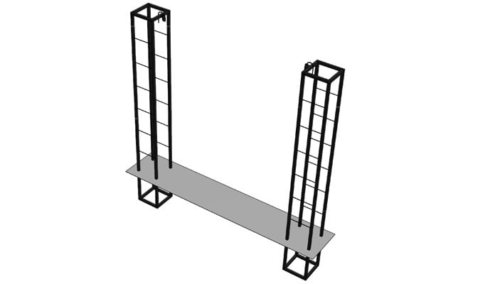 Double Pillar Growing Frame Design 2