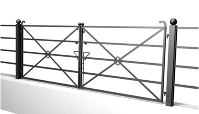 Large 5 Bar Gate