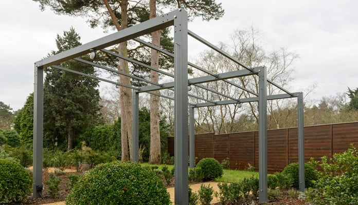 Contemporary Pergola Walkway 2