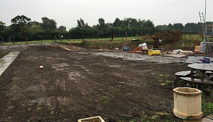 Daisy Barn Garden Cleared
