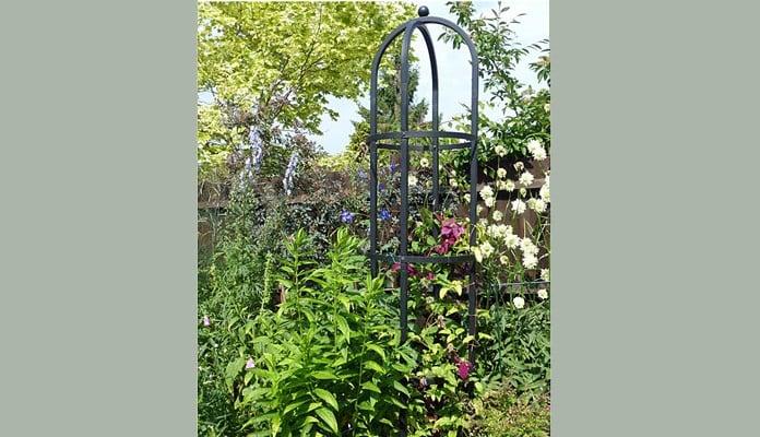 Steel Round Obelisk, Mrs Fisher - Hampshire
