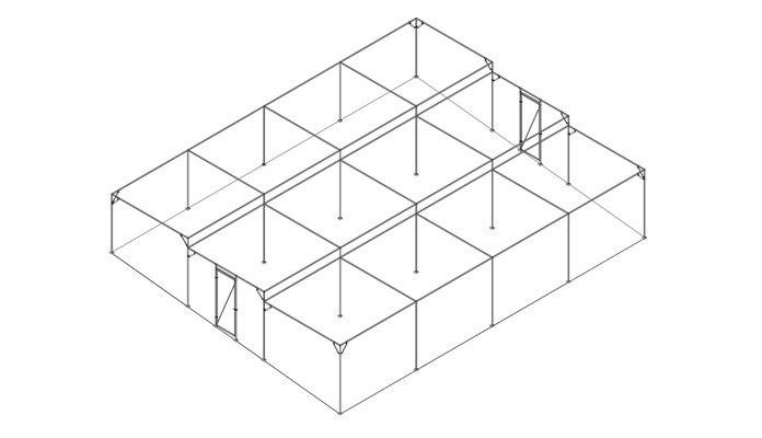 Terraced Fruit Cage