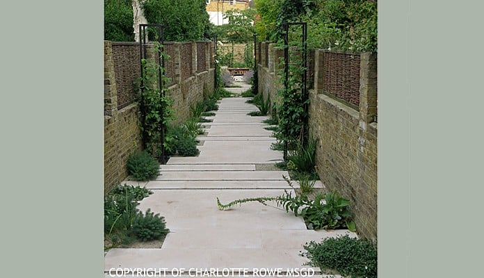 Contemporary Growing Frames Daytime, Charlotte Rowe - Charlotte Rowe Garden Design