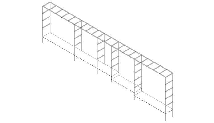 Square Colonnade Design