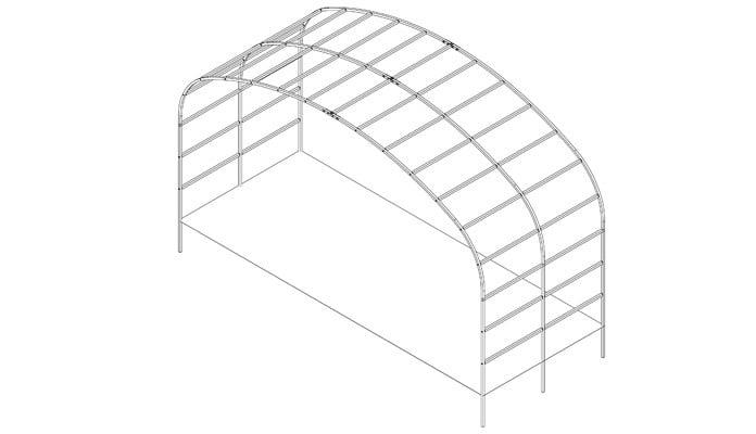 Ellipse Wide Arch Design