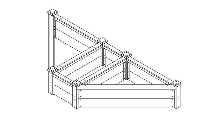 Superior Corner Raised Bed Design