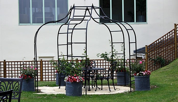 Ogee Rose Gazebo 5 Legs