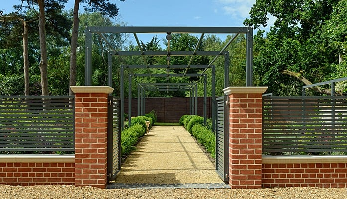 Contemporary Pergola Walkway 4