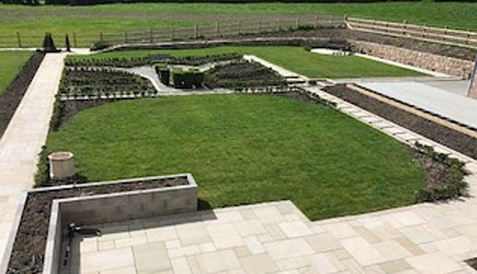 Daisy Barn Garden Developing