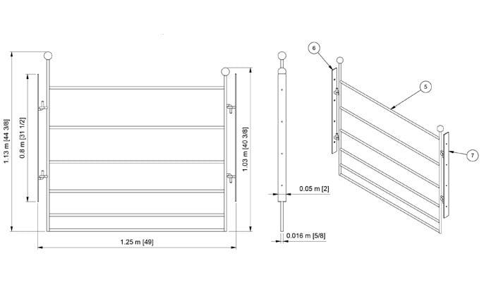 CAD Bespoke Blacksmiths Gate
