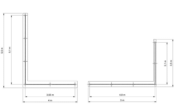 Chain Link Fencing - Cad 3