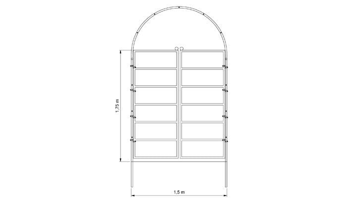 Roman Arch Gate Design 5
