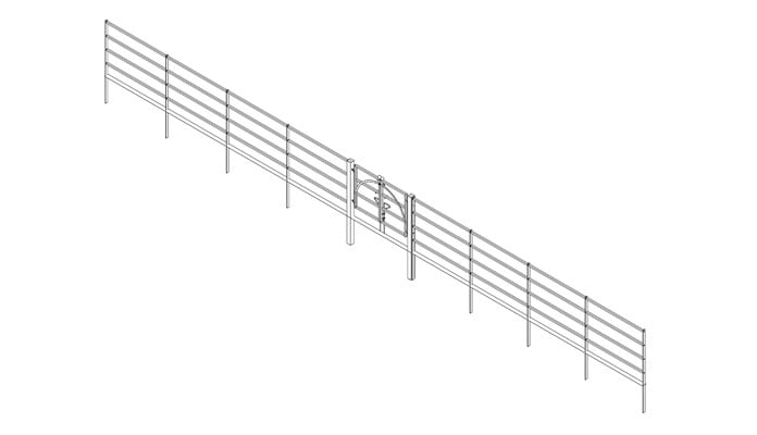 Estate Fence and Gate Design