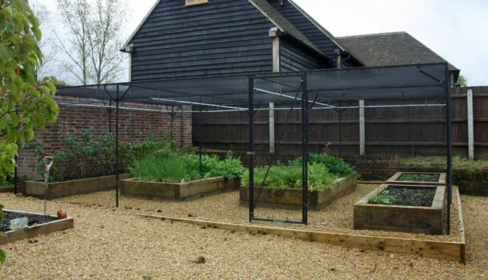 Bespoke Steel Fruit Cage 7.5m x 5m Butterfly Net