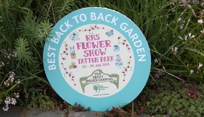 Award for RHS Tatton Show Garden