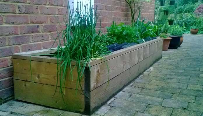 2ft x 8ft Standard Raised Beds, Mr Haffner - Newbury