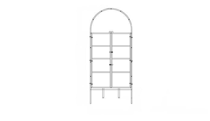Roman Arch Gate Design 6