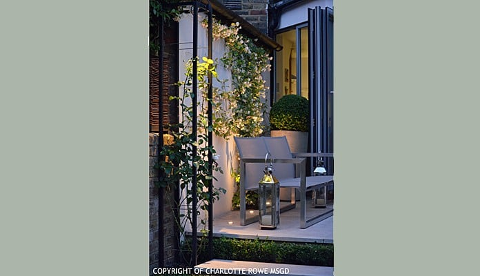 Contemporary Growing Frames Evening, Charlotte Rowe - Charlotte Rowe Garden Design