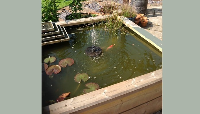 4ft x 4ft Raised Bed Pond, Mr Hallet - Somerset
