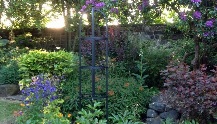 Steel Round Obelisk, Mrs Yates - West Yorkshire