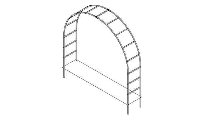 3m Wide Roman Arch Design