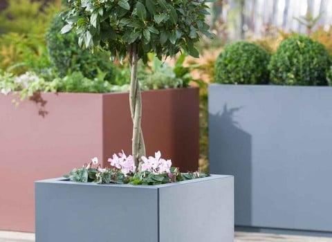 Metal Garden Planters