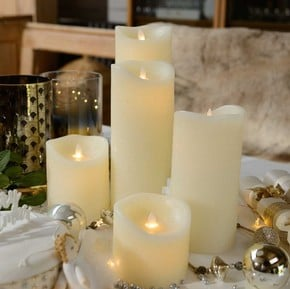 Christmas Lights & Candles