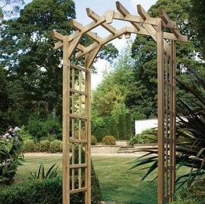 Wooden Garden Arches