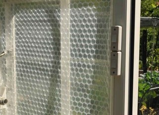 Greenhouse Bubble Wrap Insulation