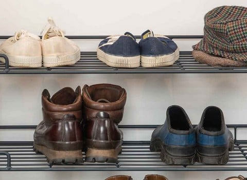 Coat & Shoe Racks