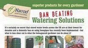 Ban-Beating Watering Solutions - April 2012