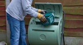 Compost in as little as 14 days with a Compost Tumbler