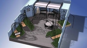 First look at our Chelsea Flower Show Stand
