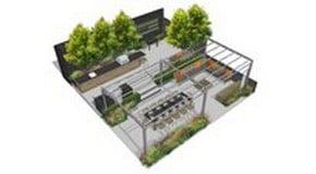 Gaze Burvill and Harrod Horticultural at RHS Chelsea