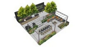 Gaze Burvill and Harrod Horticultural at RHS Chelsea