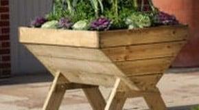 Growing in Vegetable Planters