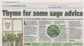 Harrod Horticultural in the Daily Express - Again!
