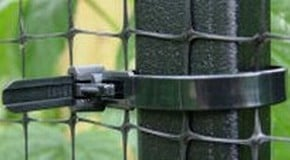 How to attach netting to a Fruit Cage