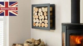 Log Holders Featured on Houzz
